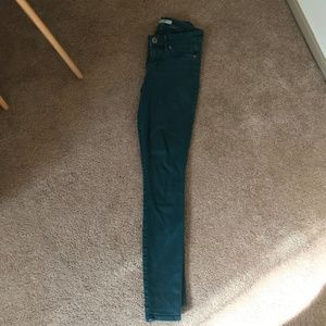 Rich & Skinny Green Pants Jeans